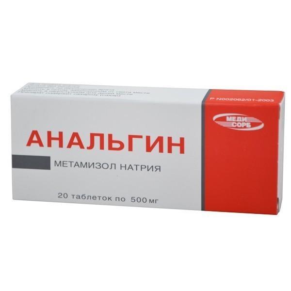 Лекарство Анальгин