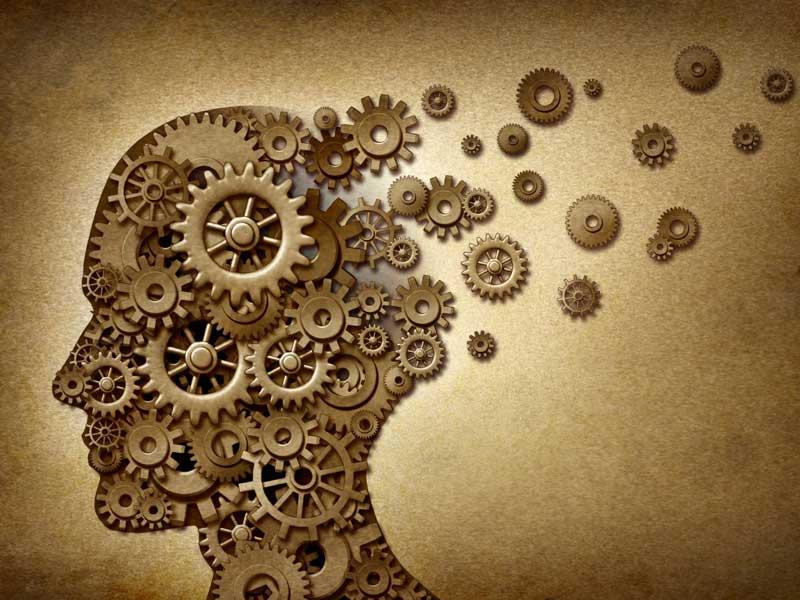 Голова из механизмов