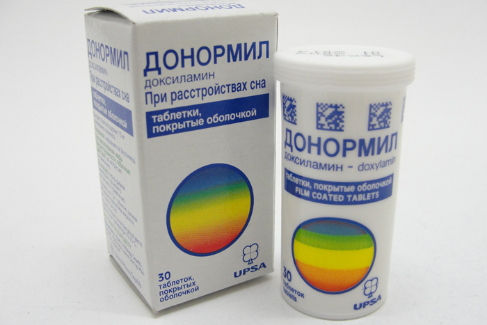 Таблетки для сна Донормил