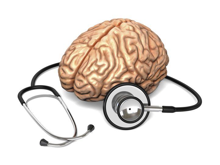 Мозг и стетоскоп