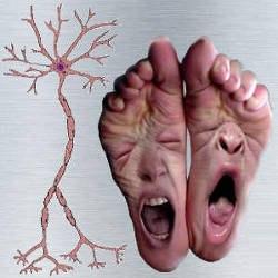 Ноги с лицами