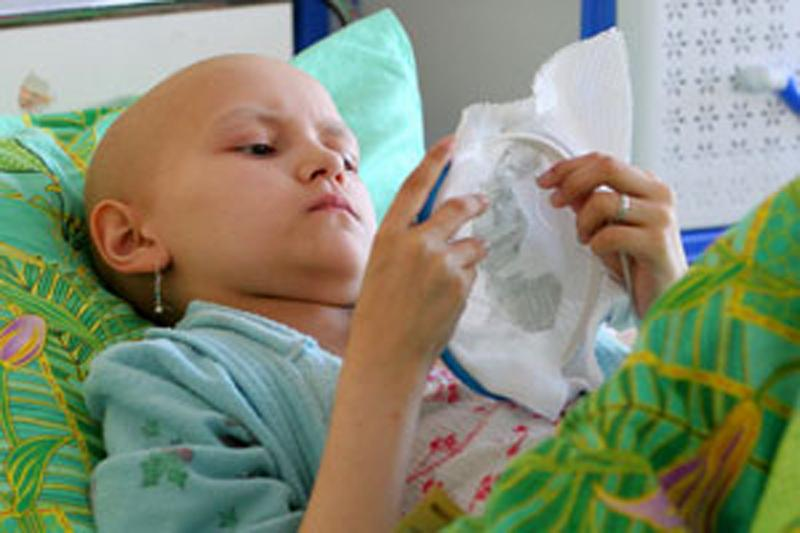 Ребенок больной раком