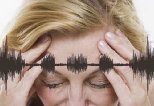 Линия звука и голова