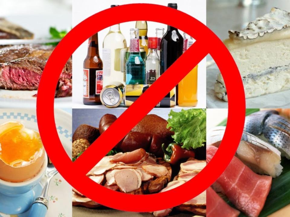 Вредная еда под запретом