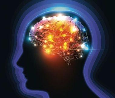 Мозг с фонариками