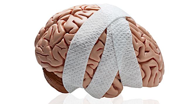 Мозг в бинтах