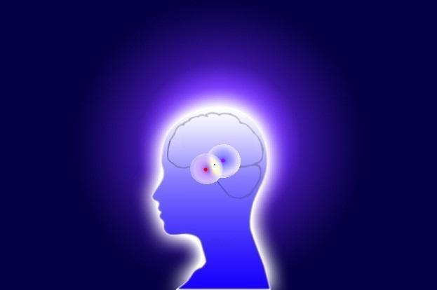 Светящаяся голова