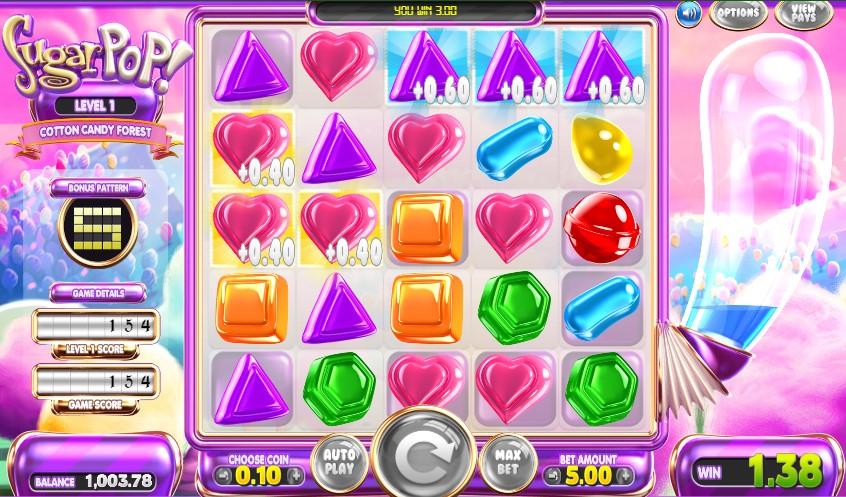 Игровой автомат Sugar Pop