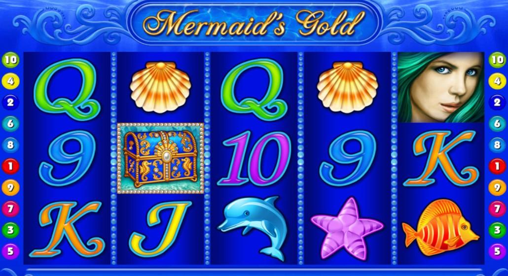 Игровой автомат Mermaids Gold